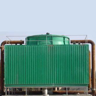 银川大酒店方形不锈钢冷却塔案例