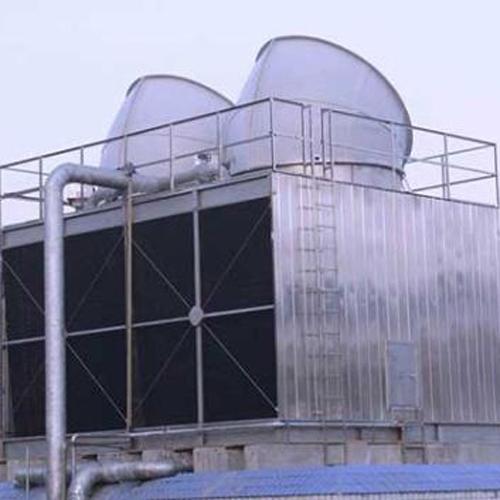 成都至强商务玻璃钢冷却塔案例