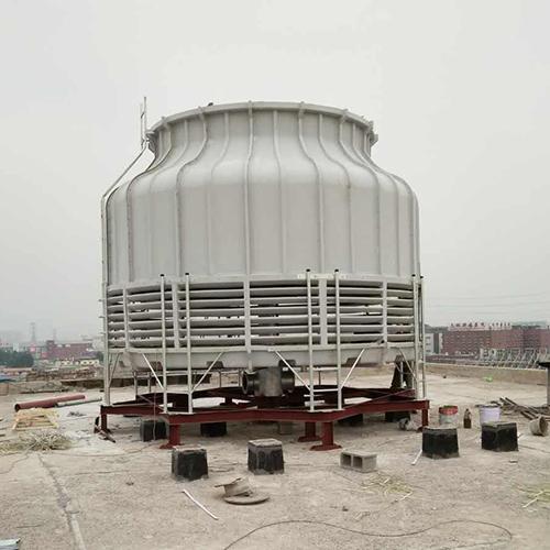 湖北圆形玻璃钢冷却塔安装