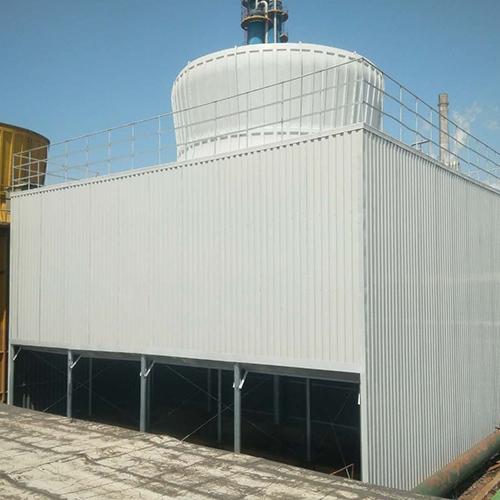 天津方形逆流开式冷却塔